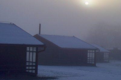 zimní kemp