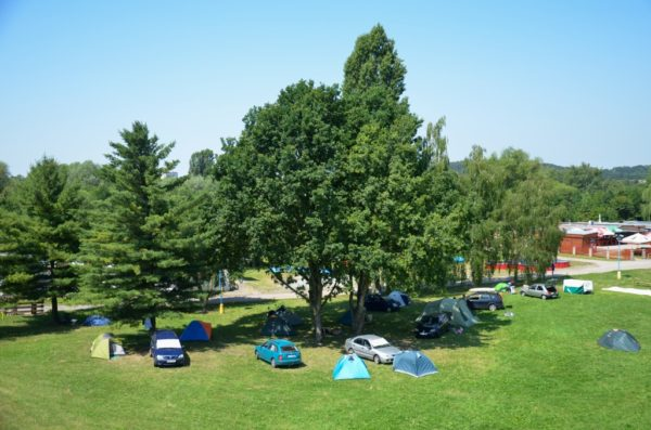 Kemp Rozkoš - Les sites de camping