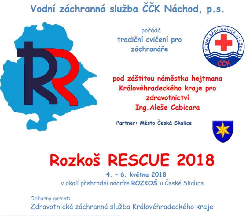 Vodní záchranná služba - cvičení