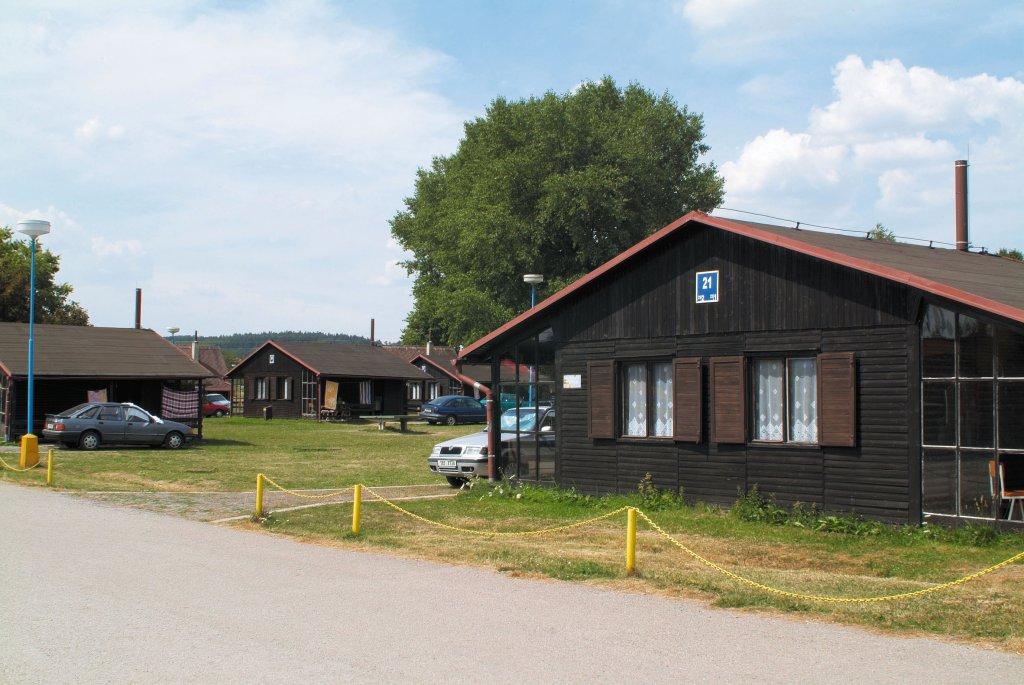 Cottages in camp Rozkoš