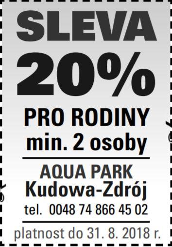sleva-aquapark KUDOWA