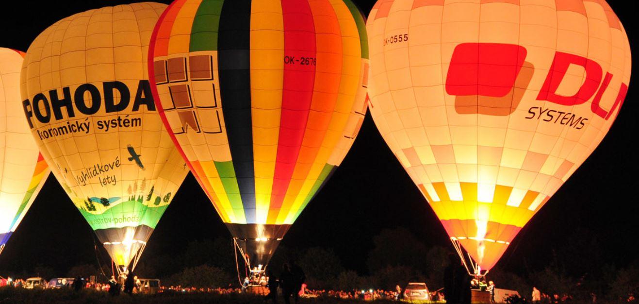 25 balonu okolo Rozkoše