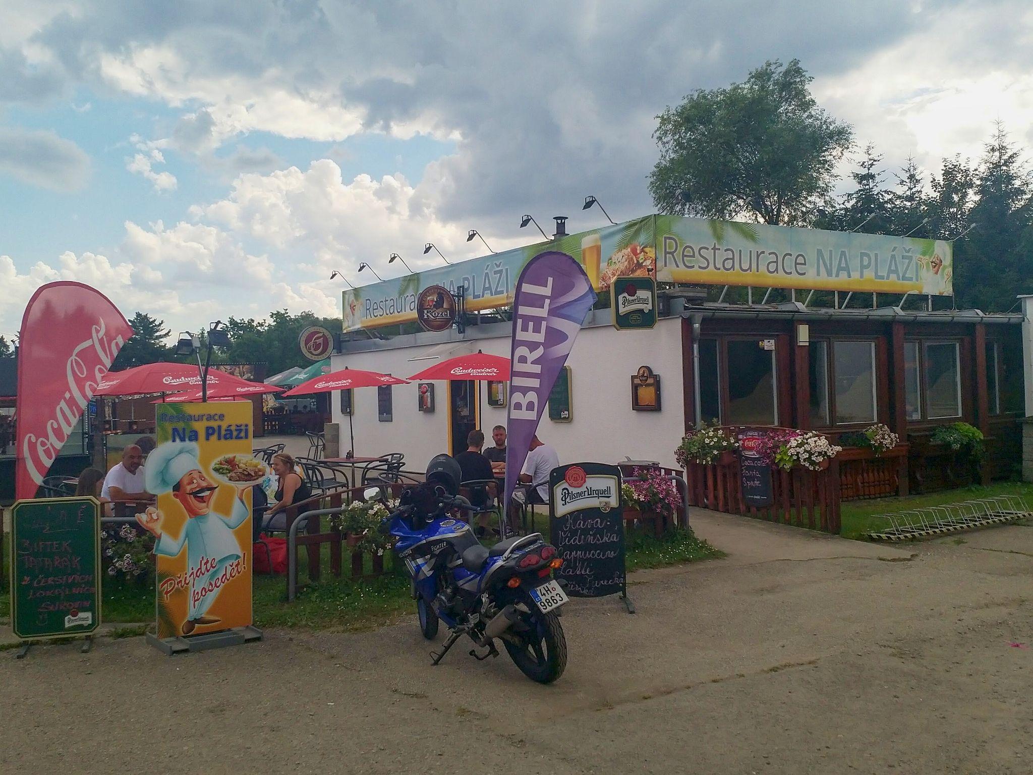 restaurace Na Pláži